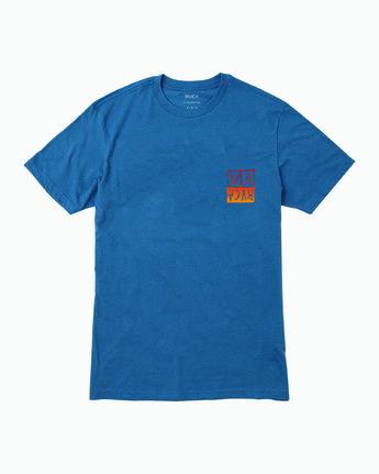 1 Unplugged T-Shirt Blue M401WRUN RVCA