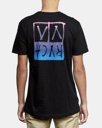 4 Unplugged T-Shirt Black M401WRUN RVCA