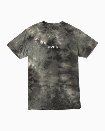 0 Center RVCA Washed T-Shirt Black M409QRCE RVCA