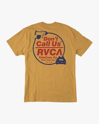 0 Don't Call Us T-Shirt  M410QRDO RVCA