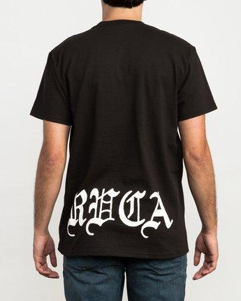 4 Bert Krak Eagle Skull T-Shirt  M410QREA RVCA