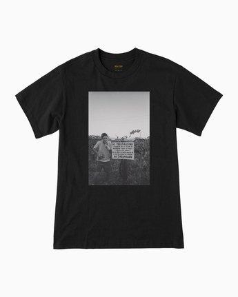 0 Beautiful Losers Yelland T-Shirt Black M410QRYE RVCA