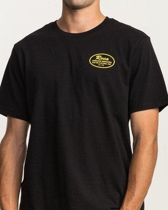5 Creative Service T-Shirt Black M410SRCR RVCA