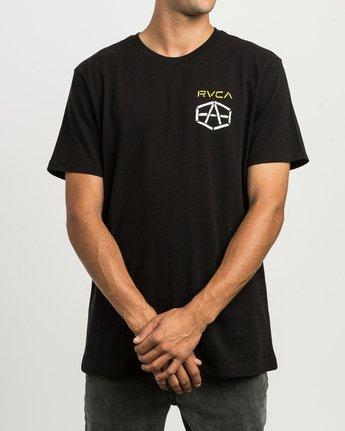 2 Andrew Reynolds Stencil T-Shirt  M410SRRE RVCA