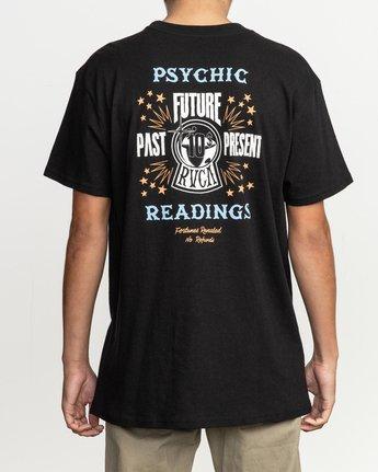 4 Dmote Psychic T-Shirt Black M410TRPS RVCA