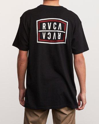 4 Flip Corpo T-Shirt Black M410URFI RVCA