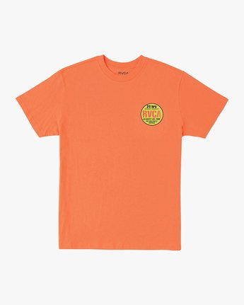 1 Insured T-Shirt Orange M410URIN RVCA