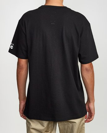 3 Defer Tokyo T-Shirt Black M410VRDT RVCA