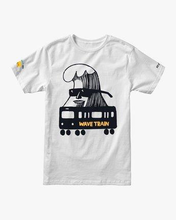 0 ESPO BL Tokyo T-Shirt White M410VRET RVCA
