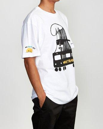 3 ESPO BL Tokyo T-Shirt White M410VRET RVCA