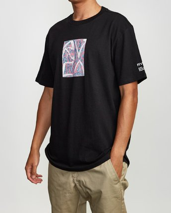 2 Niikuratakao Tokyo T-Shirt Black M410VRNI RVCA