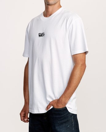 4 Remio Mix T-Shirt White M410VRRE RVCA