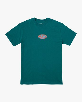0 Slacker T-Shirt Green M410VRSL RVCA