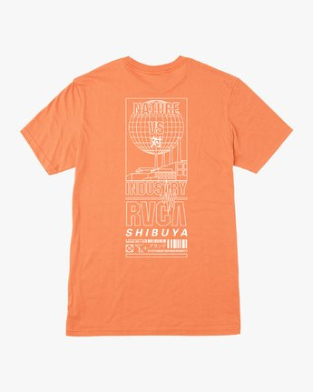 0 Super Shibuya T-Shirt Orange M410VRSS RVCA