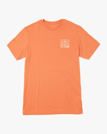 1 Super Shibuya T-Shirt Orange M410VRSS RVCA