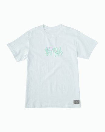 1 Infrared T-Shirt White M410WRIN RVCA