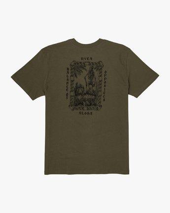 0 JeanJean Tiger Portrait T-Shirt  M410WRTI RVCA