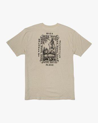 0 JeanJean Tiger Portrait T-Shirt Silver M410WRTI RVCA
