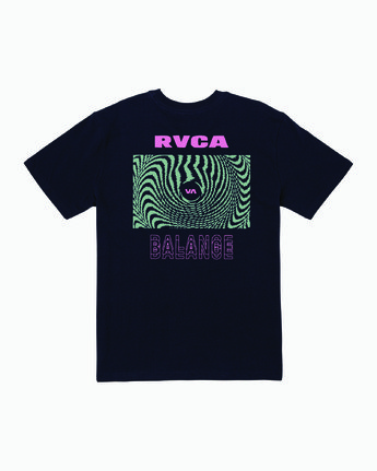 0 Void T-Shirt Blue M410WRVO RVCA