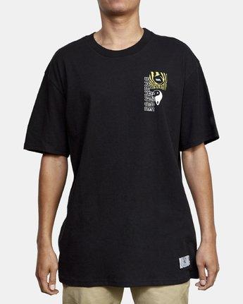 2 Void T-Shirt Black M410WRVO RVCA