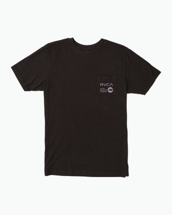 0 ANP Pocket T-Shirt  M412SRAN RVCA