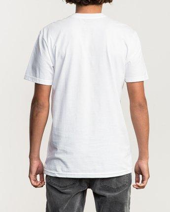 3 ANP Pocket T-Shirt White M412SRAN RVCA