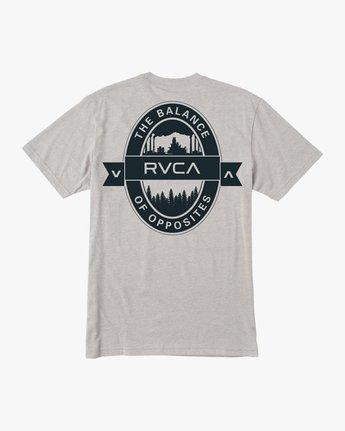 0 Barley T-Shirt Grey M412TRBA RVCA