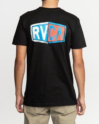 4 Carborator T-Shirt Black M412TRCA RVCA