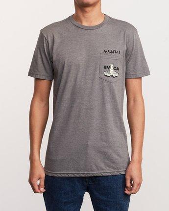 3 Kampai T-Shirt Grey M412URKA RVCA