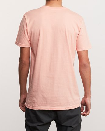 3 Over Under T-Shirt Orange M412UROV RVCA