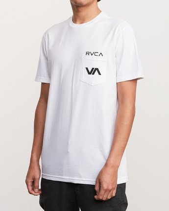 3 Over Under T-Shirt White M412UROV RVCA