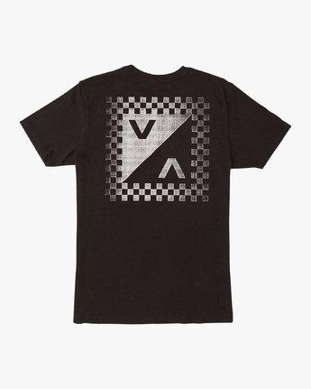 0 Check Mate Pocket T-Shirt Black M412VRCH RVCA