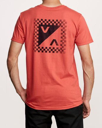4 Check Mate Pocket T-Shirt Green M412VRCH RVCA