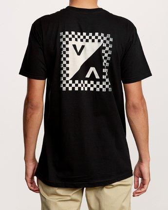 4 Check Mate Pocket T-Shirt Black M412VRCH RVCA