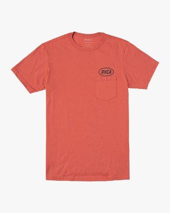 1 Labour T-Shirt Green M412VRLA RVCA