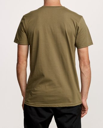 3 Royale Pocket T-Shirt Green M412VRRO RVCA