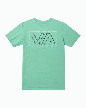 0 Barbed T-Shirt Multicolor M412WRBA RVCA