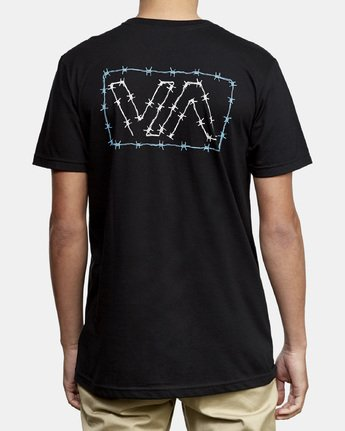 4 Barbed T-Shirt Black M412WRBA RVCA