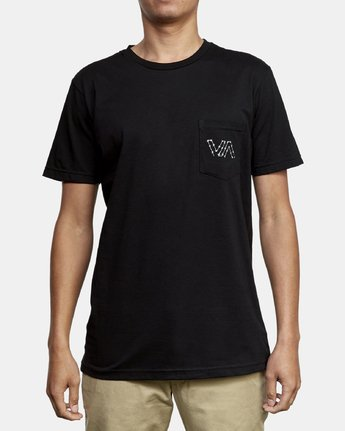 2 Barbed T-Shirt Black M412WRBA RVCA