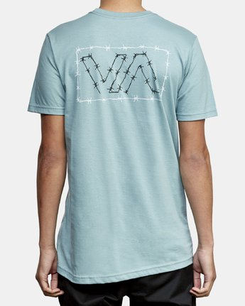 4 Barbed T-Shirt Green M412WRBA RVCA