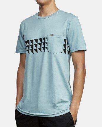 1 Cross Fade T-Shirt Multicolor M412WRCF RVCA