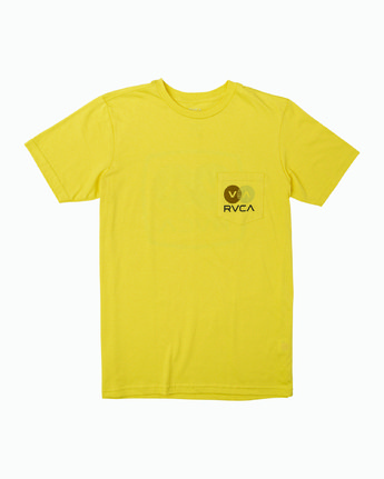 1 TV Corpo TEE Yellow M412WRTV RVCA