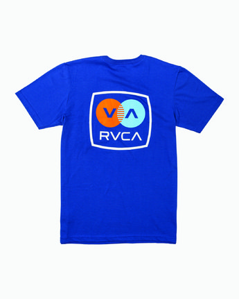 0 TV Corpo T-Shirt Blue M412WRTV RVCA