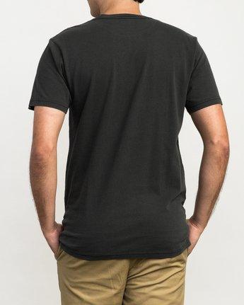 2 RVCA ANP Pigment T-Shirt  M413QRRV RVCA