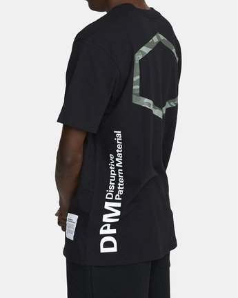 3 DPM SHORT SLEEVE POCKET TEE Black M4143RDP RVCA