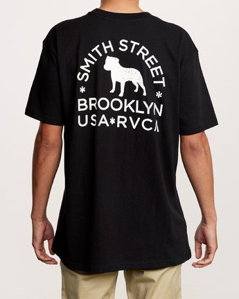 4 Smith Street Wicks Pocket T-Shirt Black M414VRWI RVCA