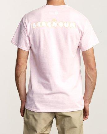 2 Beach Bum TEE Pink M419TRBB RVCA