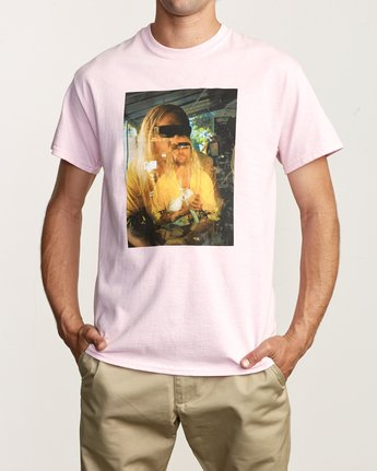 1 Beach Bum TEE Pink M419TRBB RVCA