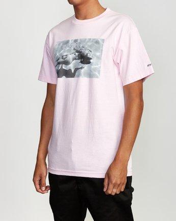 3 Deanna BL Tokyo T-Shirt Pink M419VRDT RVCA