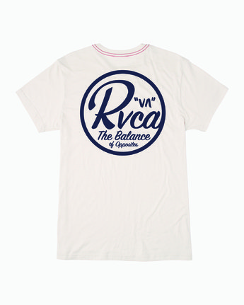 1 PATCH SEAL T-SHIRT White M4201RPS RVCA